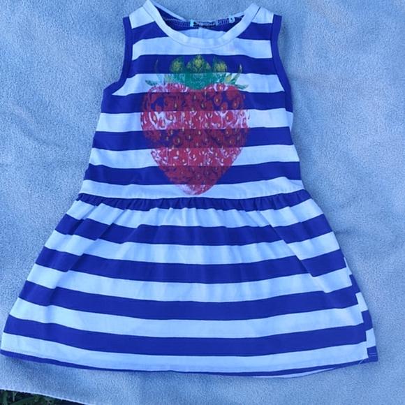 SALE! Cute little girls dress strawberry on front